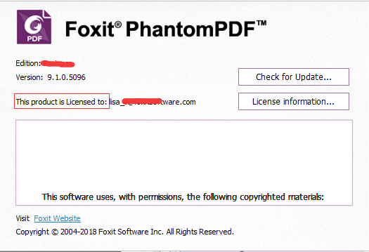 foxit phantompdf 6.0 activation key