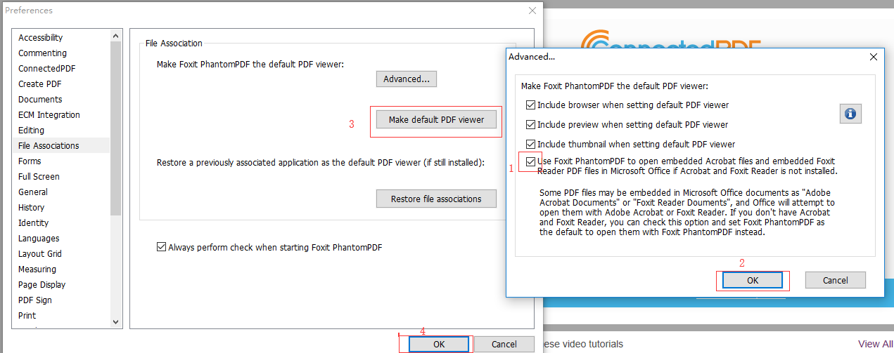 Use Foxit PhantomPDF to open Embedded Adobe Acrobat Documents and