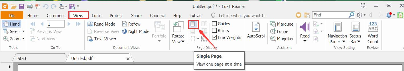 Why is the Current View option grayed out in the Print Dialog Box?