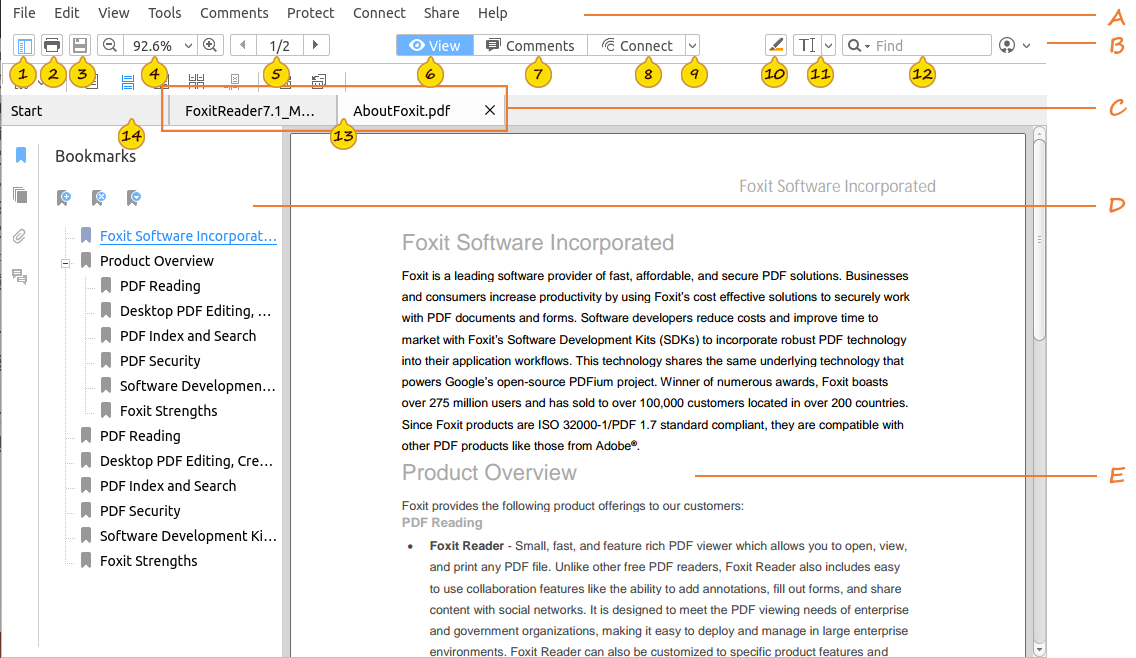 foxit reader exe download
